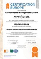 ISO14001を取得しております。