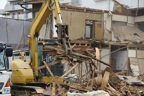 解体工事における残置物の扱いについて